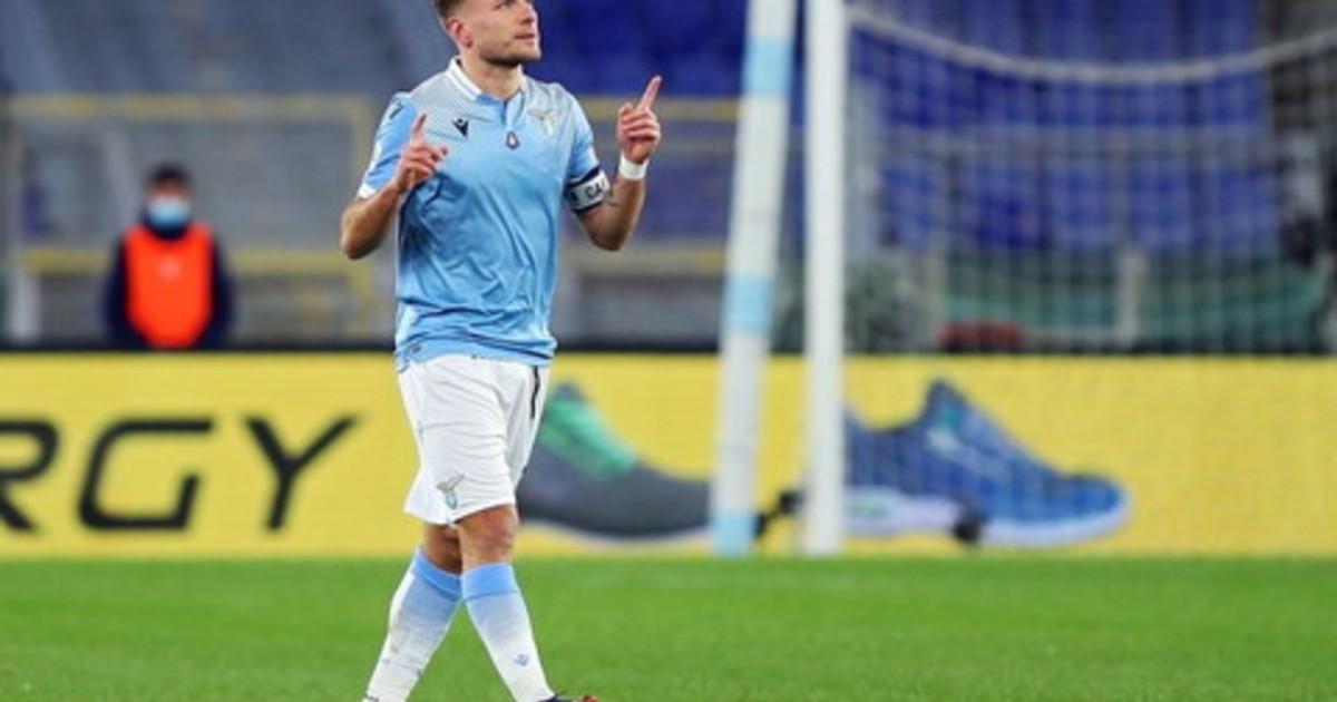 La Lazio batte 2 1 in rimonta il Sassuolo decisivo Immobile