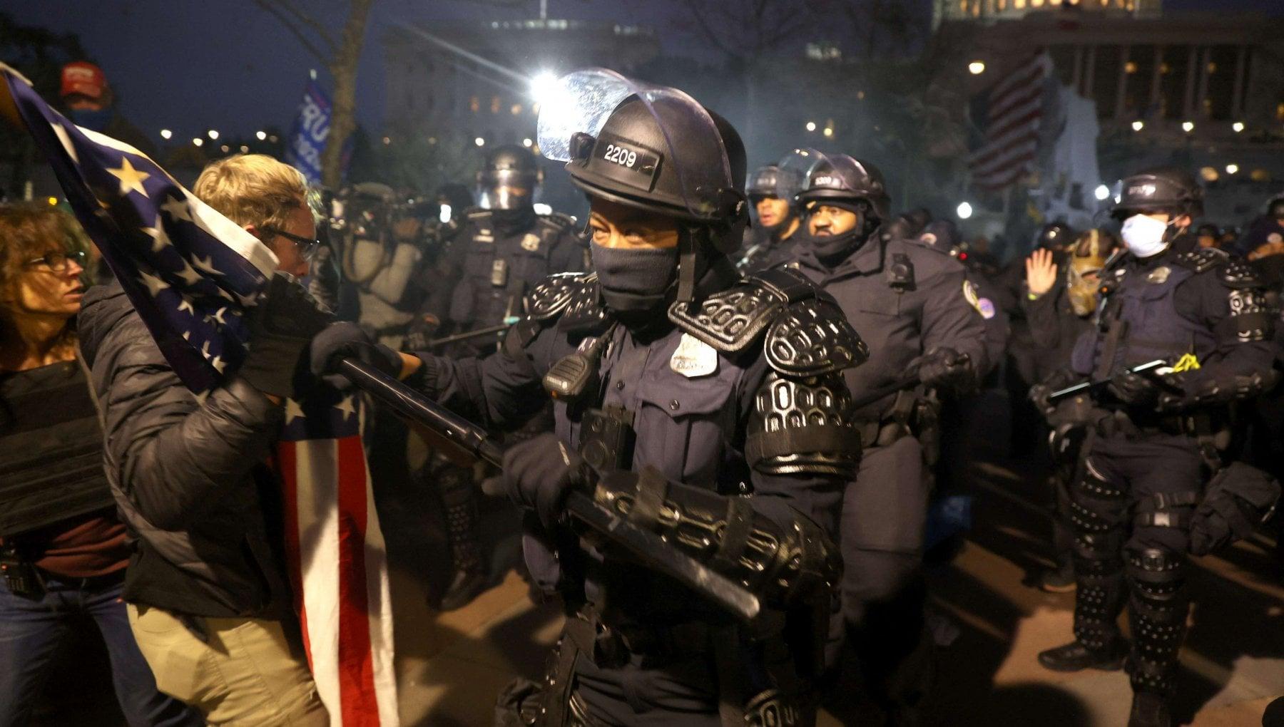 La marcia su Washington in diretta tv
