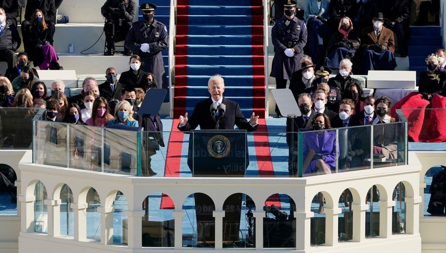 Le parole di Biden per ritrovare lunita