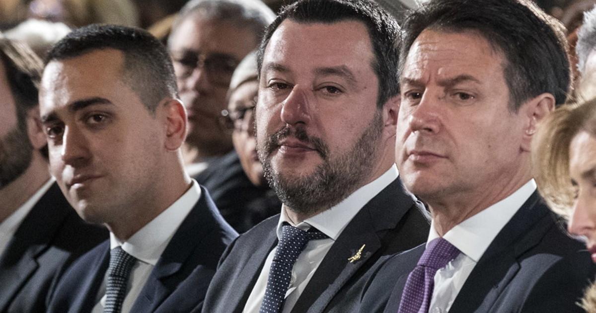 Li capirono che ci aveva preso gusto. Salvini e Di Maio quella volta al ristorante con Conte capito lavvocato del popolo