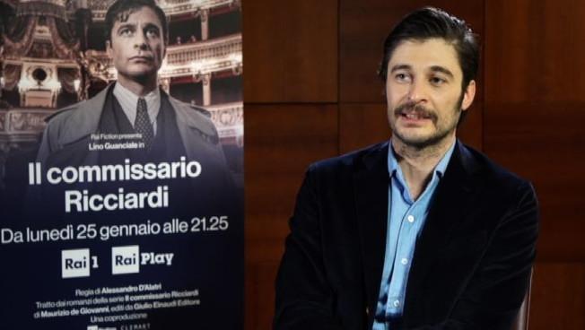 Lino Guanciale il mio Commissario Ricciardi riservato come me