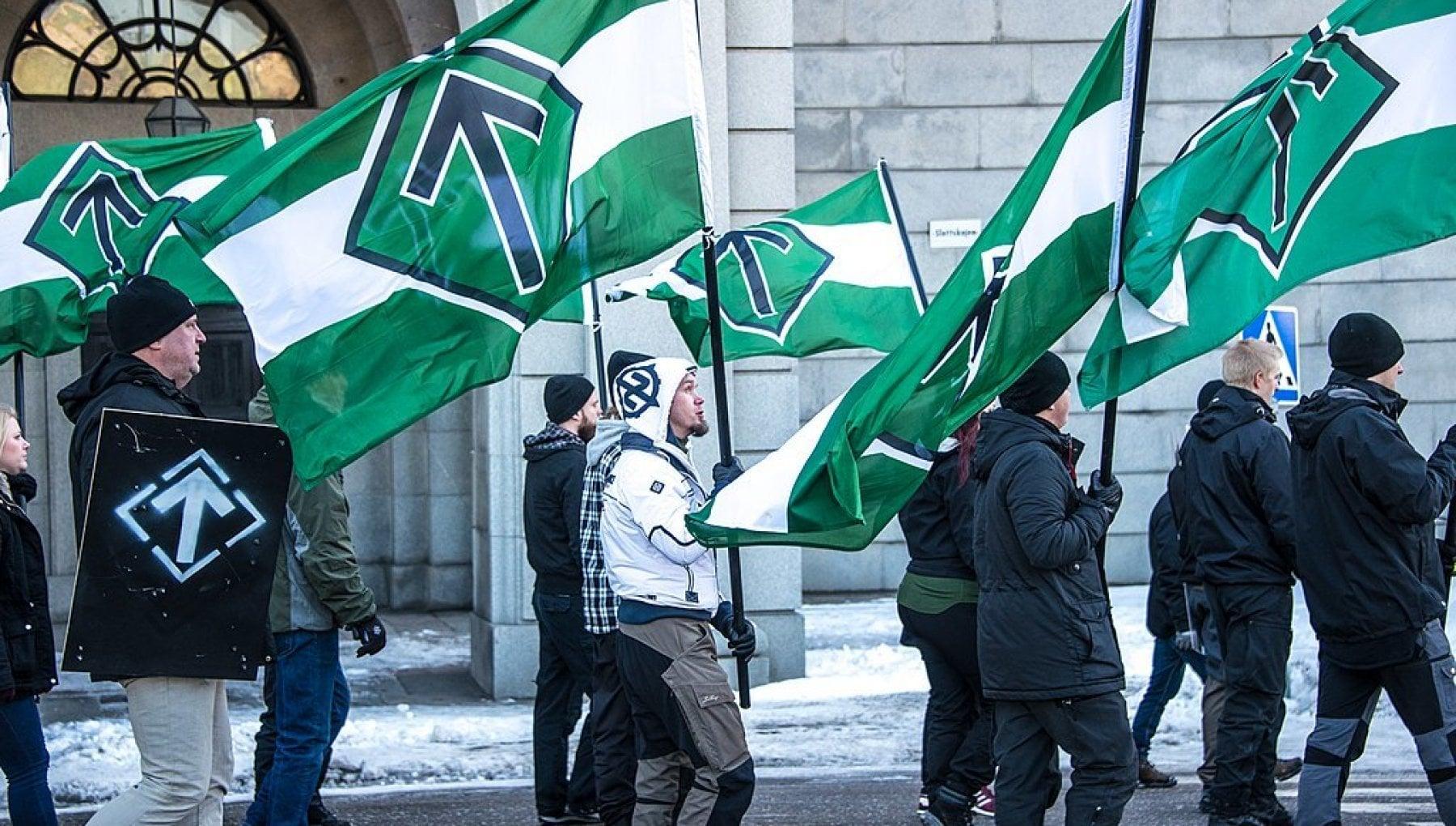 Linternazionale neonazista contro il vaccino anti Covid