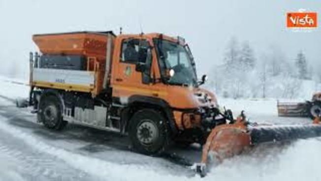 Maltempo ed emergenza neve Anas in azione per garantire la viabilita