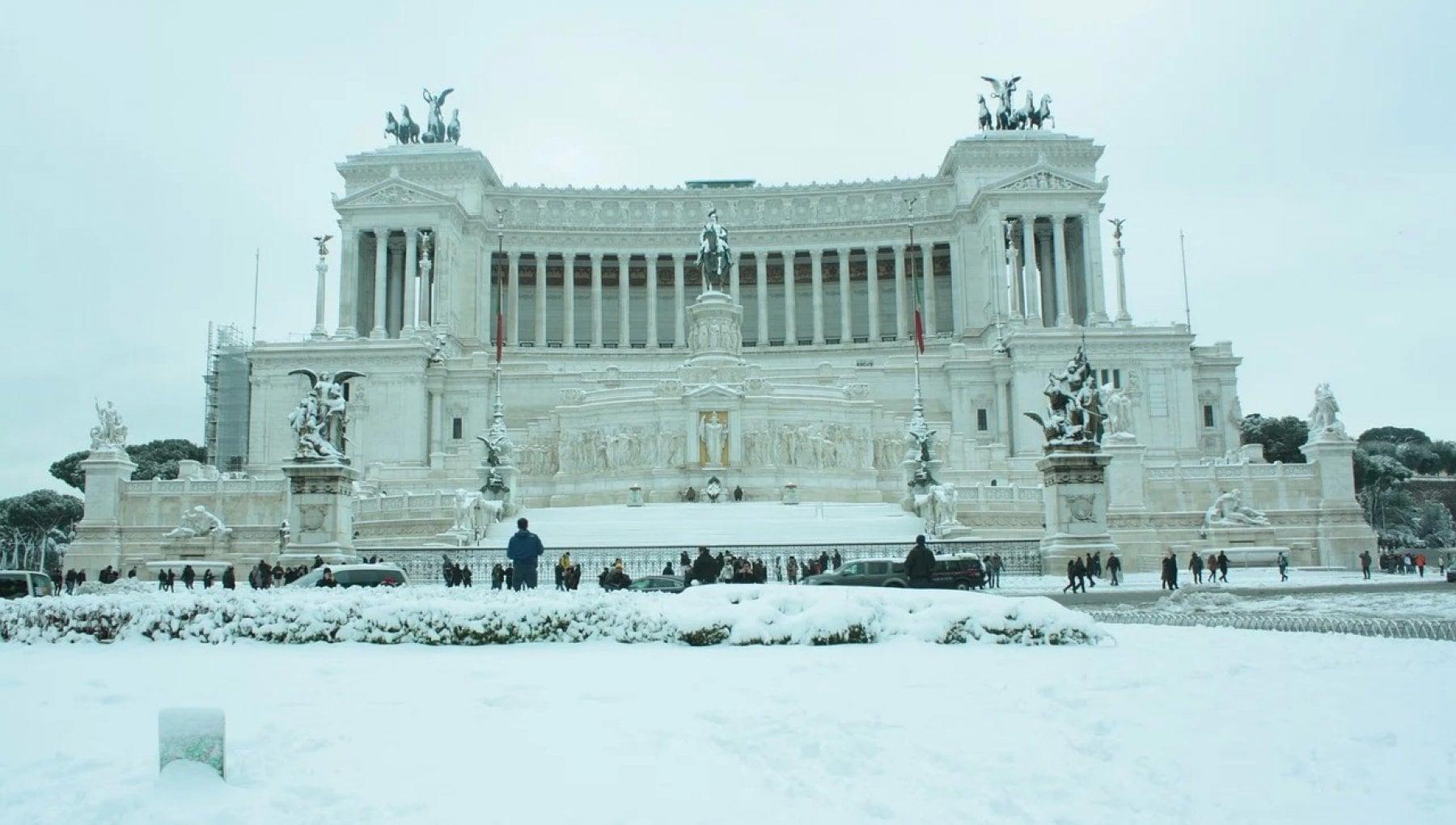 Maltempo neve su Roma durante la settimana Lesperto La situazione e anomala. Ecco cosa dobbiamo aspettarci