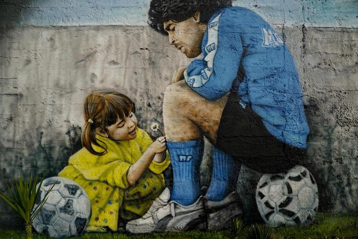 Maradona intitolata una strada che unira due campi calcio