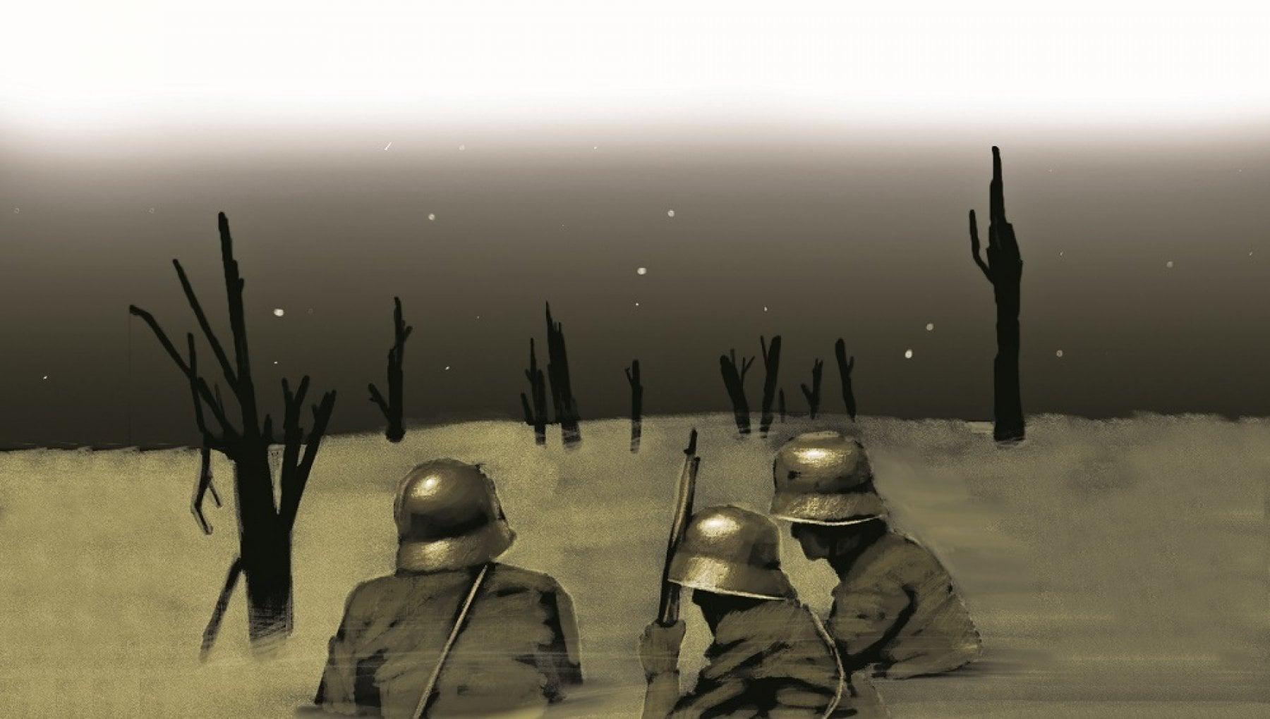 Marco Cazzato Cosi ho disegnato la guerra di Remarque