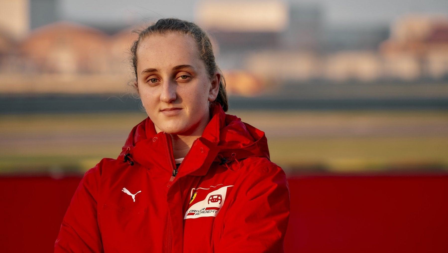Maya Weug nellAcademy Ferrari prima pilota donna della Scuderia
