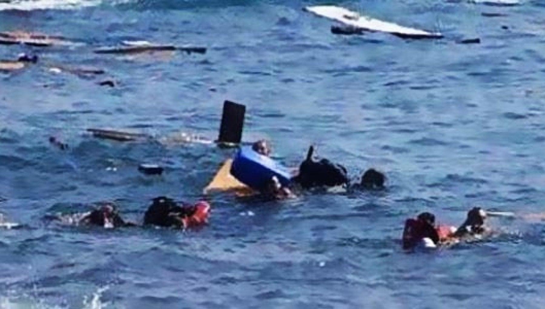 Migranti naufragio al largo della Libia. Oltre 40 vittime10 i superstiti