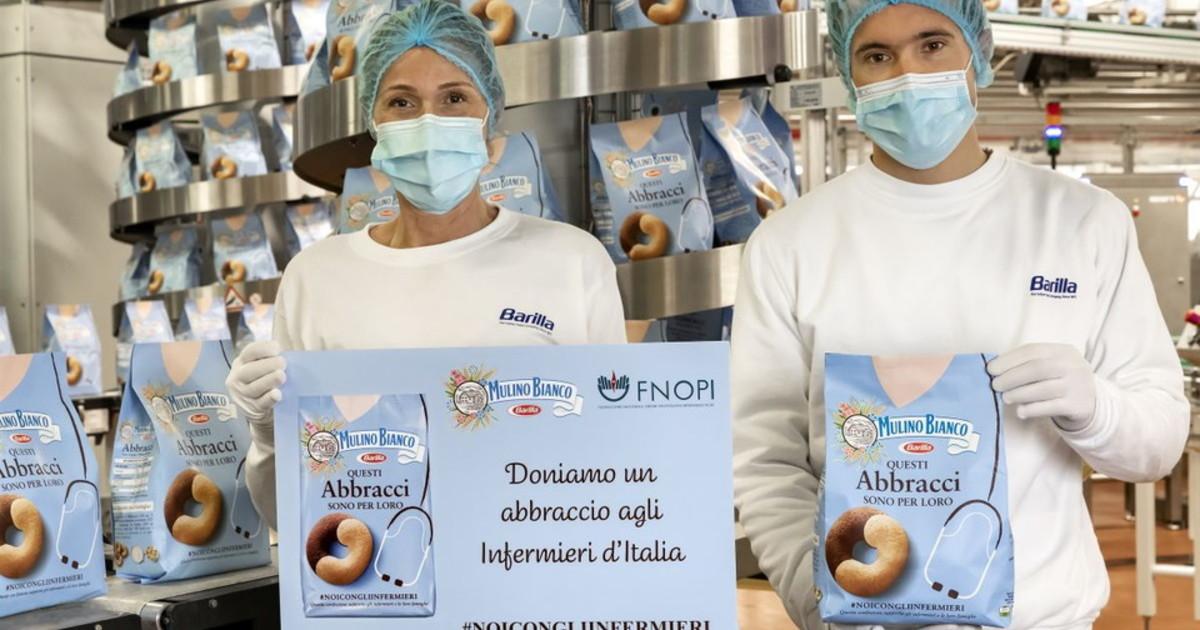 Mulino Bianco 2 milioni di euro per gli infermieri