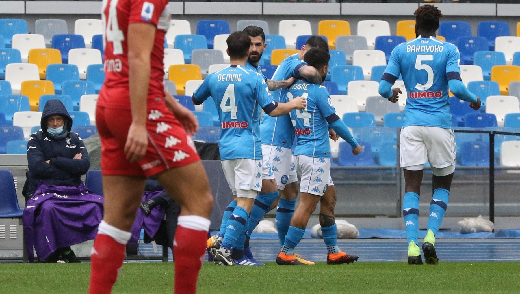 Napoli Fiorentina 6 0 azzurri a valanga Insigne fa doppietta