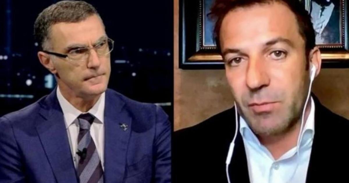 Non hai ragione affatto. Bergomi contro Del Piero lo scontro in diretta sotto gli occhi di Caressa