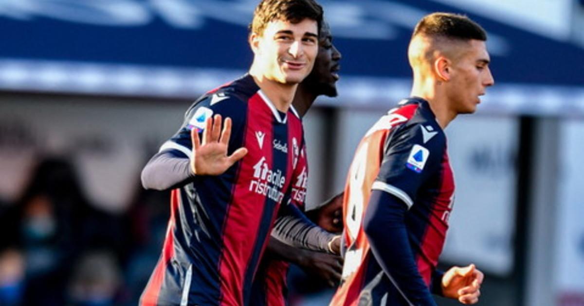 Orsolini su rigore Bologna batte Verona 1 0