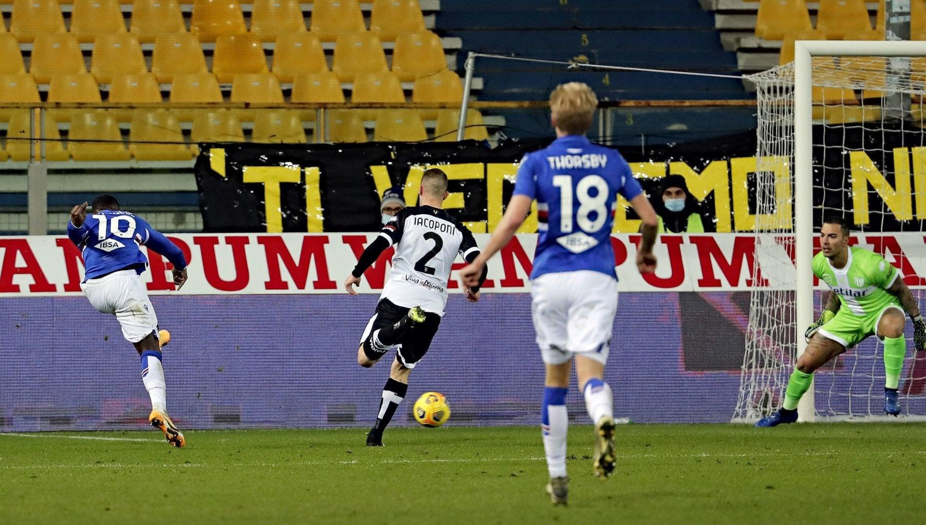 Parma Sampdoria 0 2 Yoshida e Keita mettono ancora piu nei guai i ducali
