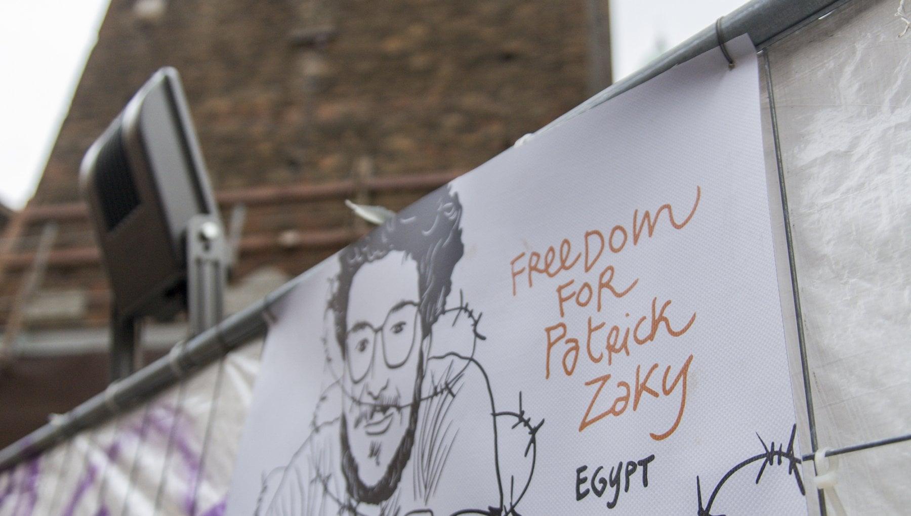 Patrick Zaki entusiasta e grato di essere cittadino onorario di Bologna