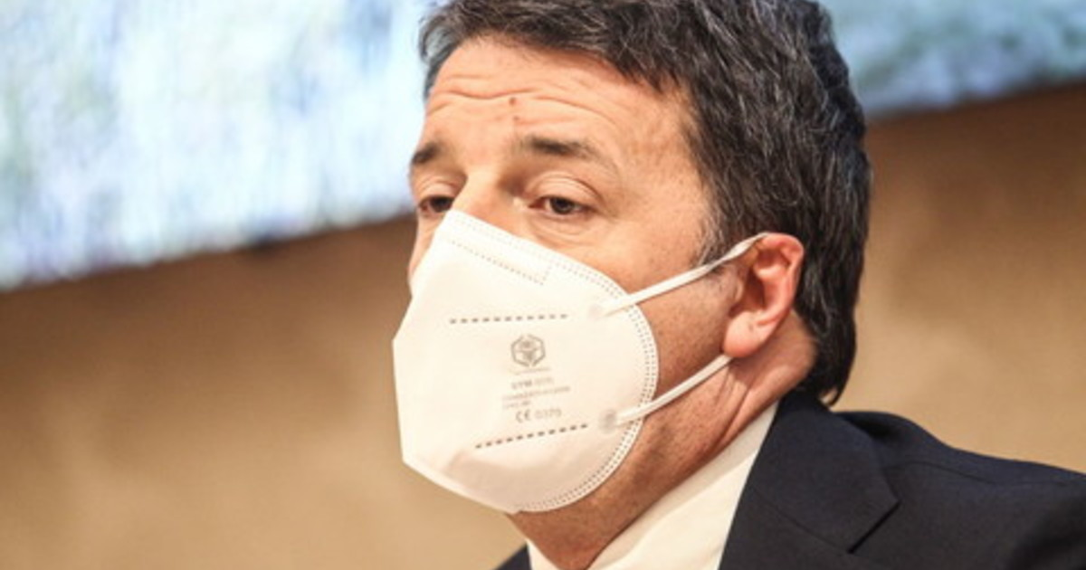 Paventando la crisi Renzi domina i media italiani