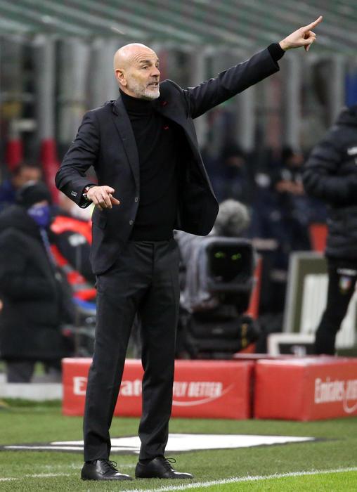 Pioli Il Milan e forte una squadra che non molla mai. Le formazioni