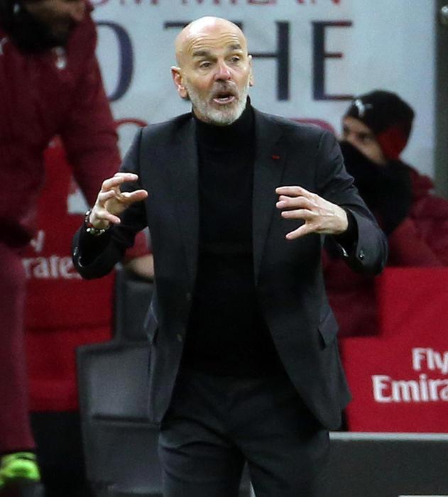 Pioli esulta Milan e squadra primo tempo di alto livello