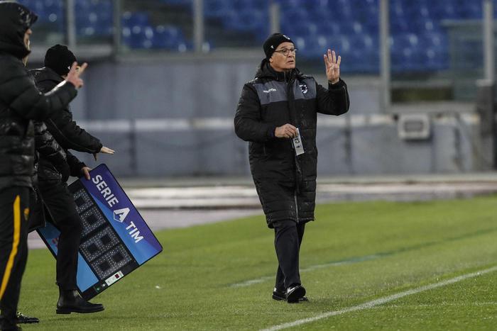Ranieri rilancia Quagliarella nel derby con Spezia