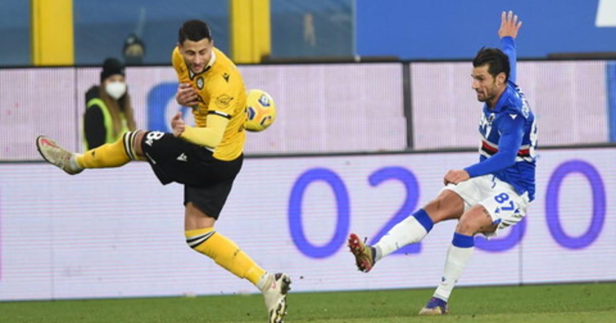 Sampdoria Udinese 2 1 Torregrossa decisivo al debutto