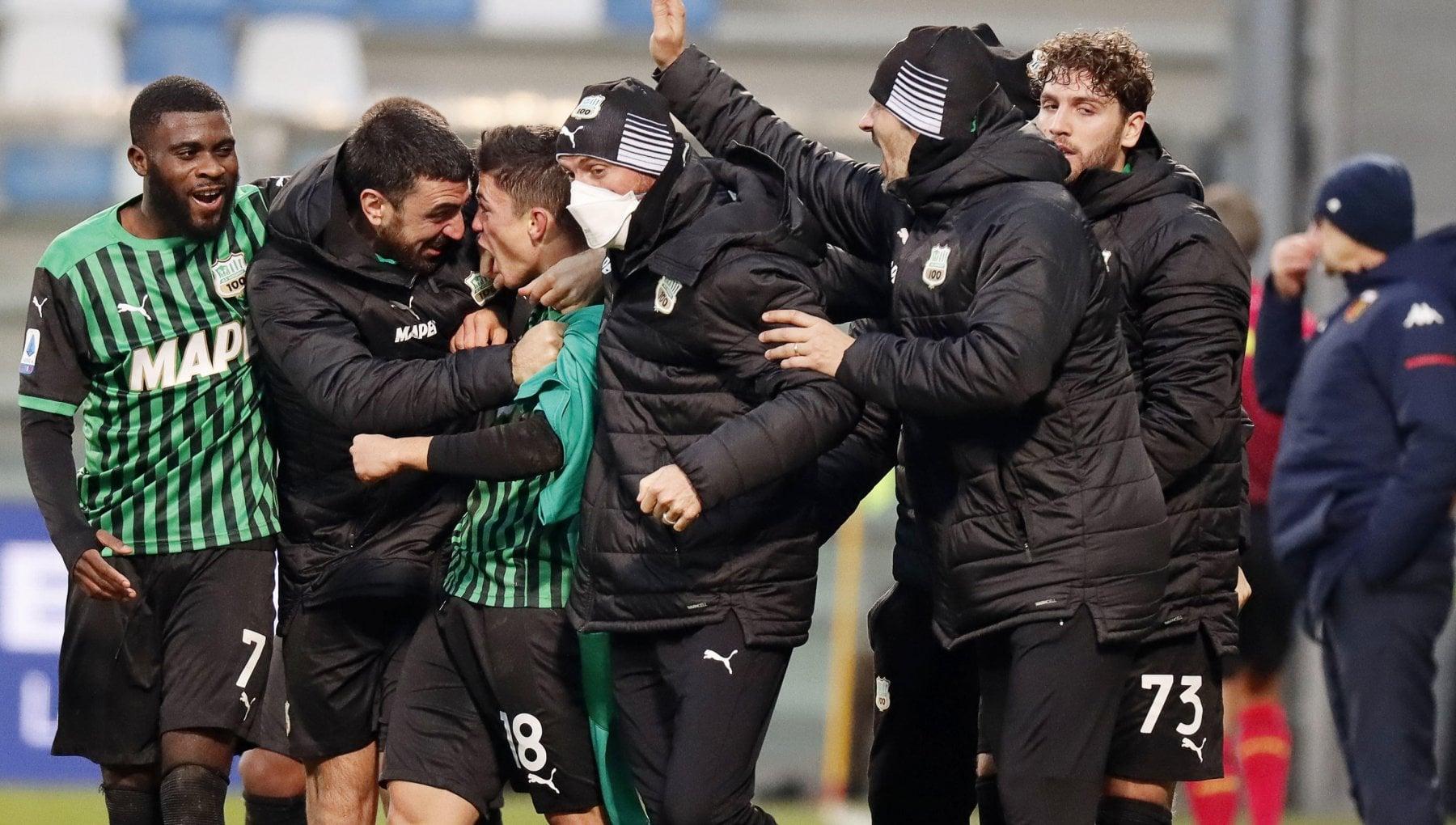 Sassuolo Genoa 2 1 Raspadori rilancia i neroverdi primo ko per Ballardini
