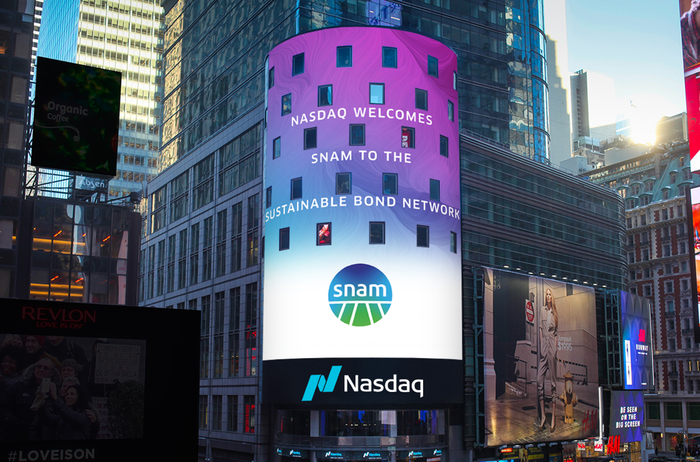 Snam entra nel network dei bond sostenibili di Nasdaq