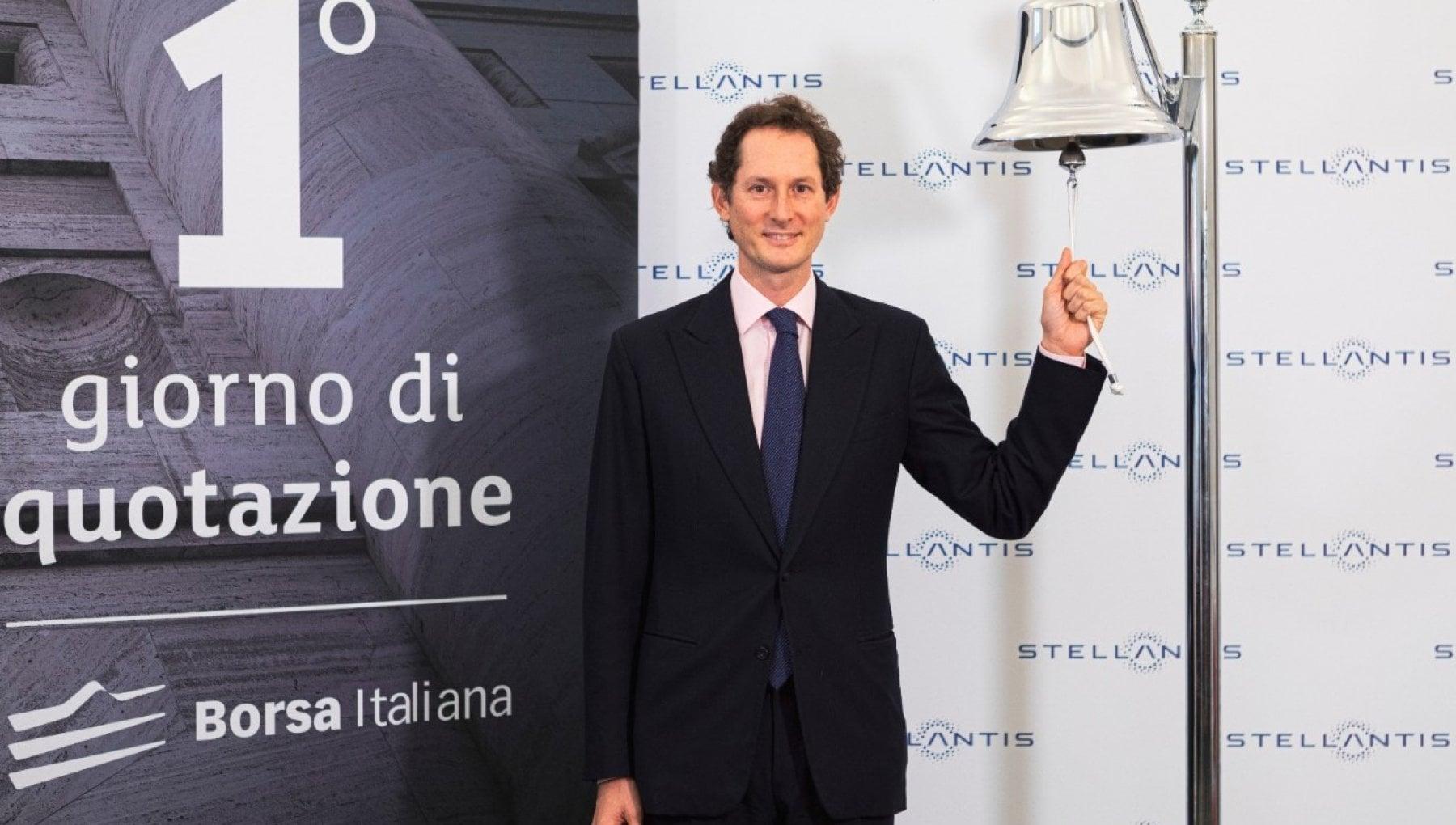Stellantis debutta in Borsa a Milano e Parigi. Elkann Traguardo storico grande opportunita