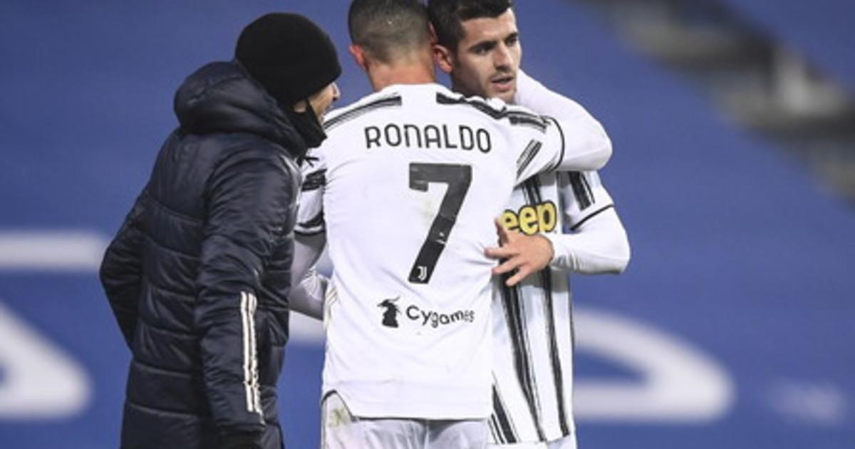 Supercoppa alla Juventus Ronaldo Morata piegano il Napoli
