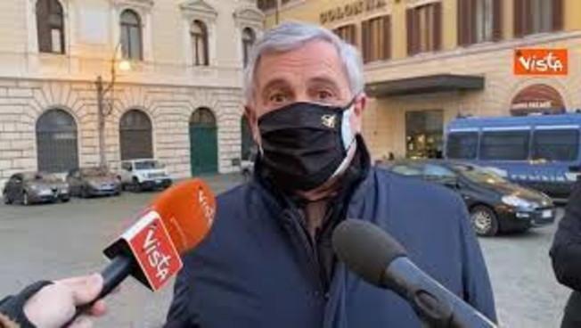 Tajani FI Il discorso di Conte Tanti impegni e promesse ma riconosciuto ruolo opposizione