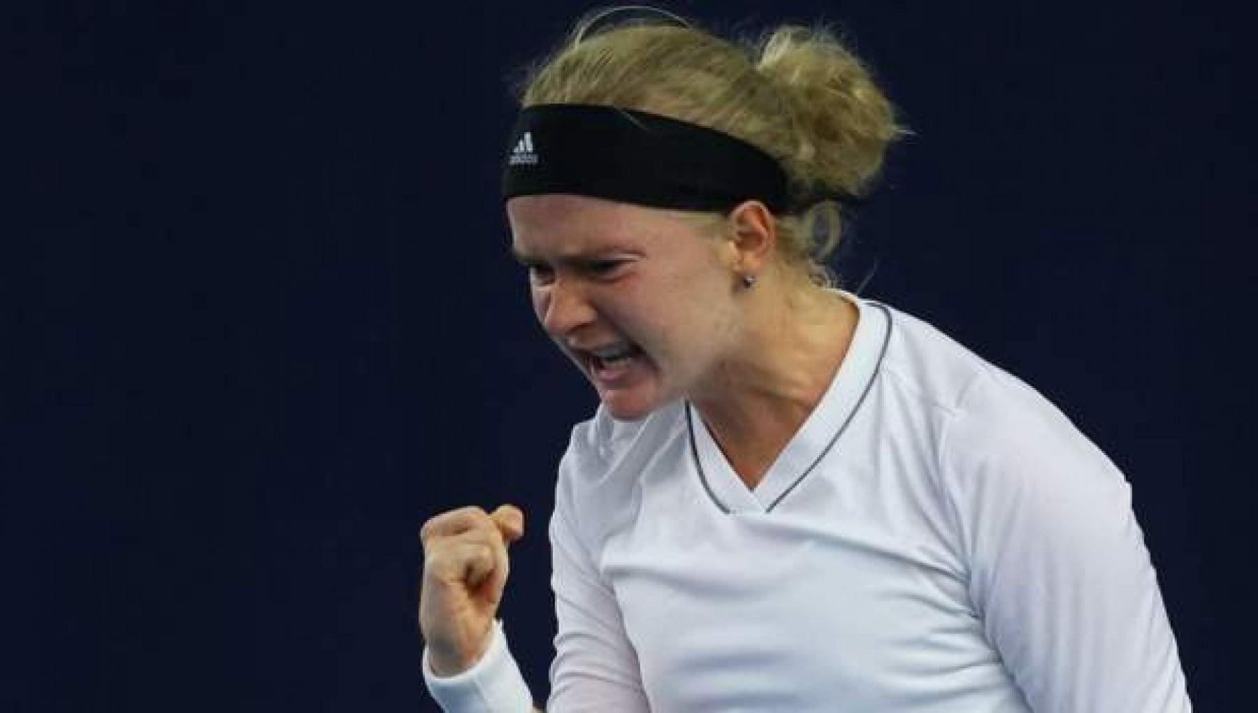 Tennis la favola di Fran Jones per i medici non poteva giocare lei si qualifica agli Australian Open