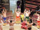Tokyo 2020 le Olimpiadi spaventano ma a migliaia nel palazzetto per vedere il sumo