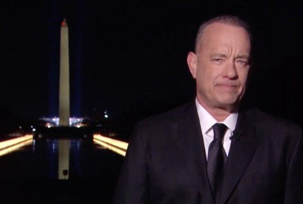 Tom Hanks gran cerimoniere dello show per Biden. Da Bruce Springsteen a Katy Perry quanti artisti con il presidente