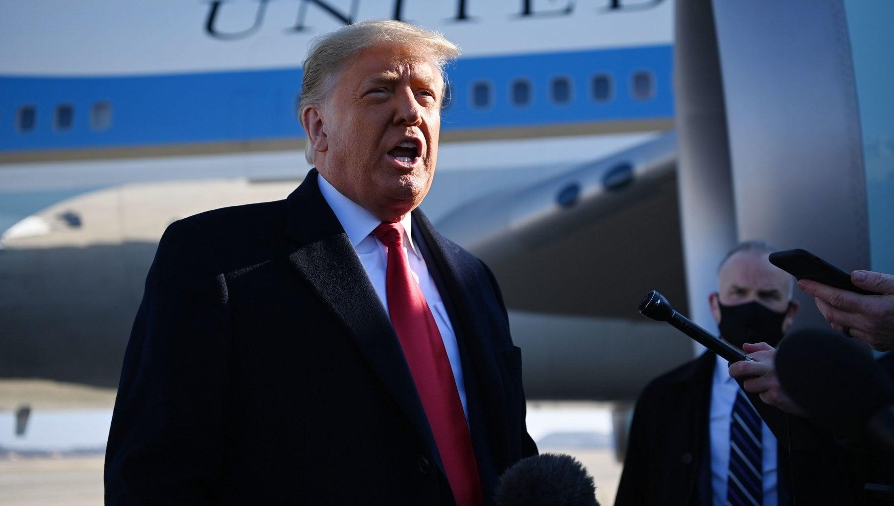 Trump La procedura di impeachment contro di me e ridicola