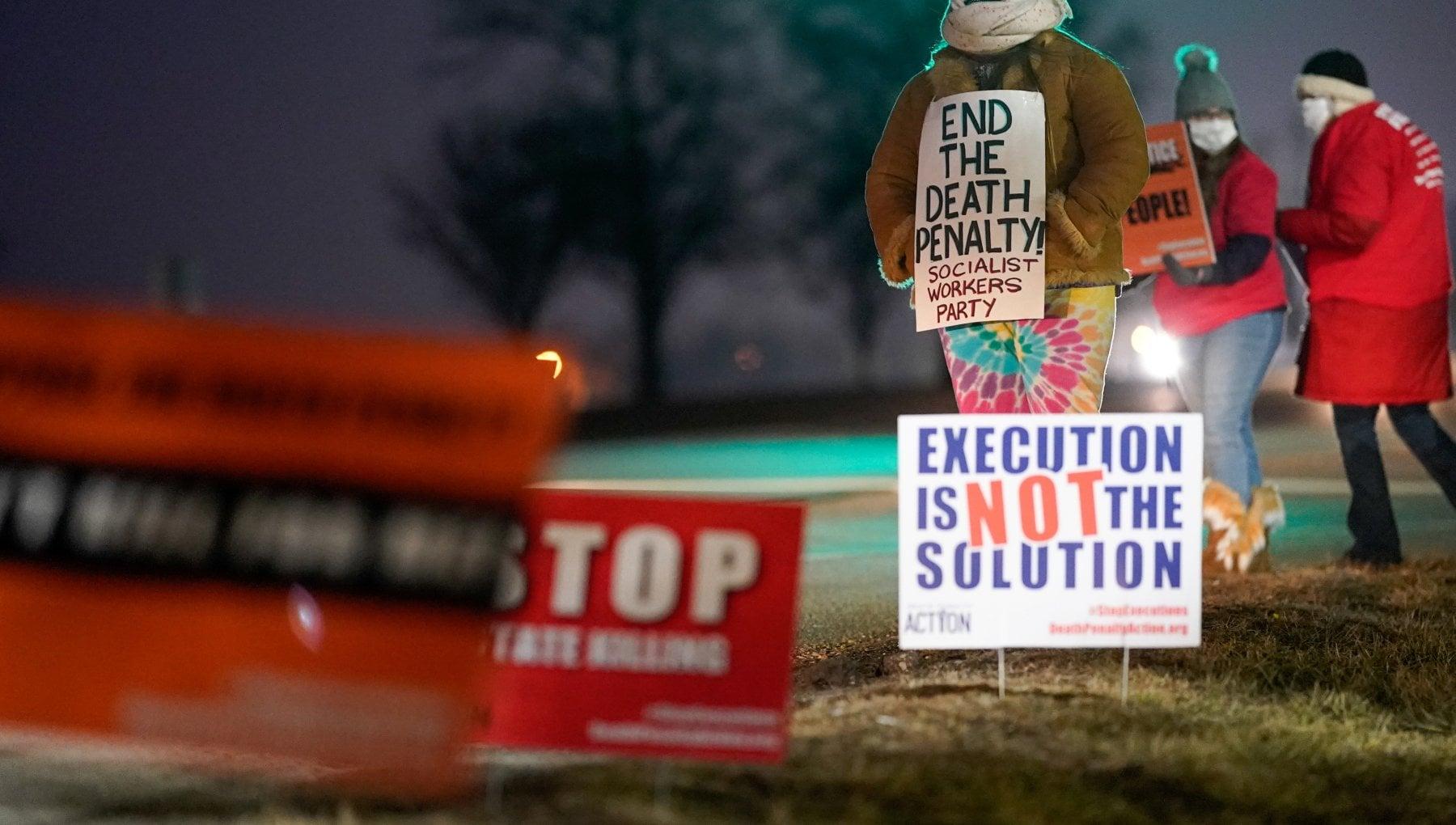 Usa eseguita condanna a morte di Lisa Montgomery prima volta da 70 anni